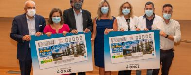 El cupó de l'ONCE homenatja el personal de l'Hospital Universitari Son Espases