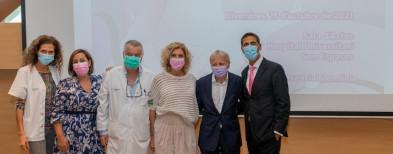 Una setantena de professionals debaten sobre els avenços en el diagnòstic i en el tractament del càncer de mama