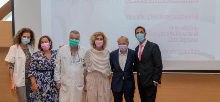 Unos setenta profesionales debaten sobre los adelantos en el diagnóstico y en el tratamiento del cáncer de mama