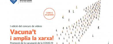 Son Espases colabora en la I edición del concurso de vídeos «Vacuna't i amplia la xarxa»